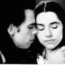 Nick, con Pj Harvey